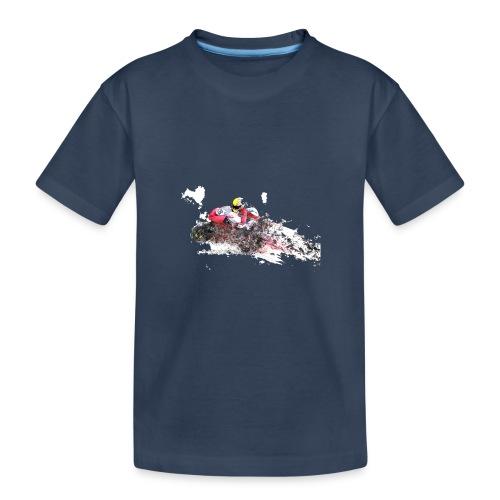 Moto00001 - Camiseta orgánica premium adolescente