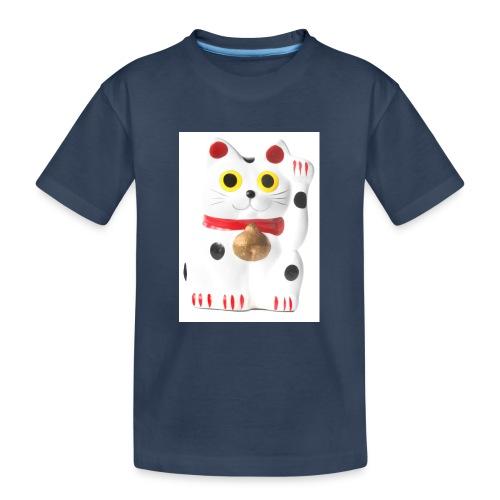 luckycat - Teenager Premium Organic T-Shirt