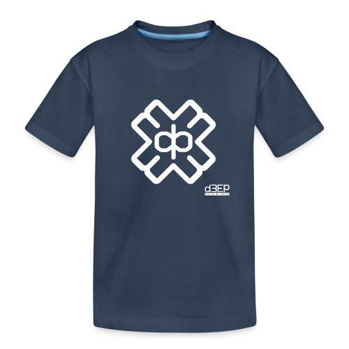 July D3EP Blue Tee - Teenager Premium Organic T-Shirt