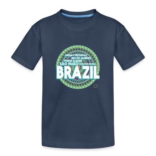 Lemon Brazil Mandala - T-shirt bio Premium Ado