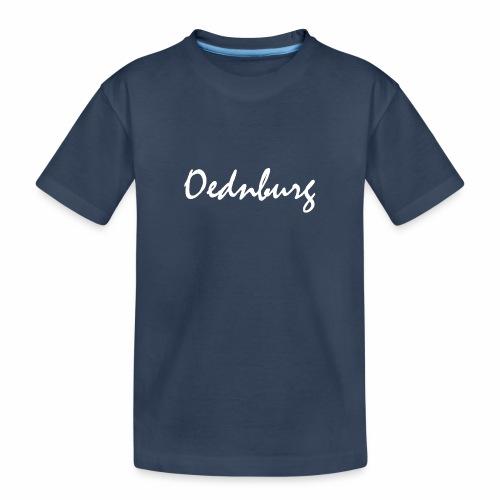 Oednburg Wit - Teenager premium biologisch T-shirt