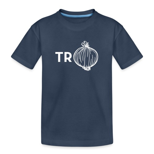 Trui met ui - Teenager premium biologisch T-shirt