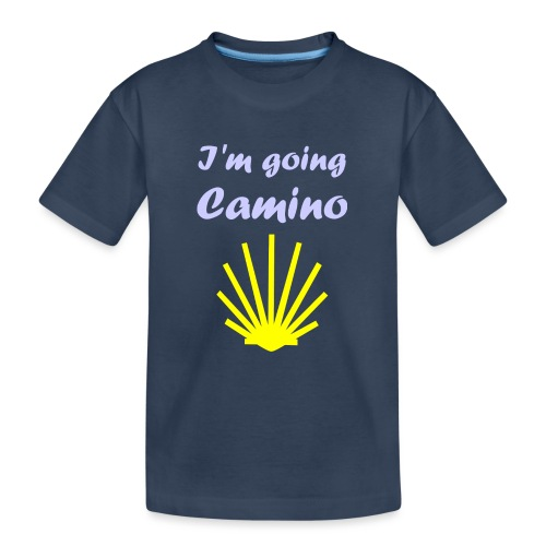 Going Camino - Teenager premium T-shirt økologisk