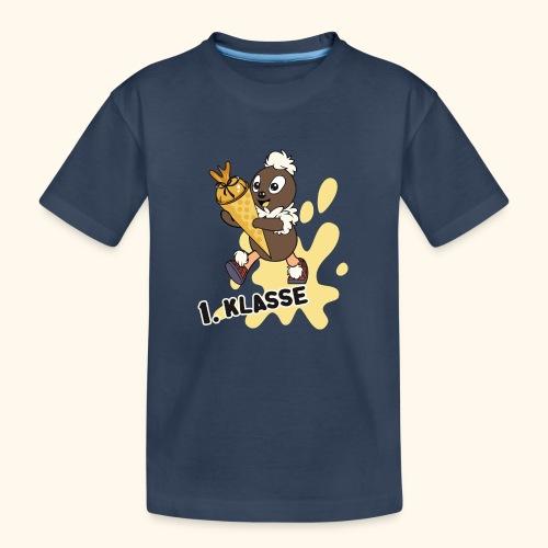 Pittiplatsch 1. Klasse - Teenager Premium Bio T-Shirt