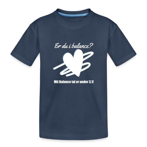 I Balance Design - Teenager premium T-shirt økologisk