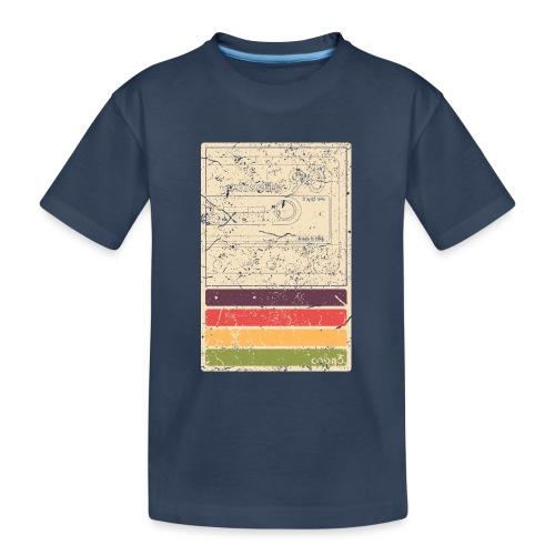 Retro Kassette - Teenager Premium Bio T-Shirt