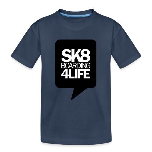 tshirtbackblack - Teenager Premium Bio T-Shirt