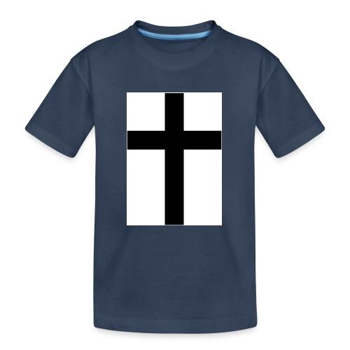 Cross - Ekologisk premium-T-shirt tonåring