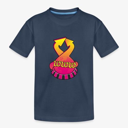 UrlRoulette logo - Teenager Premium Organic T-Shirt