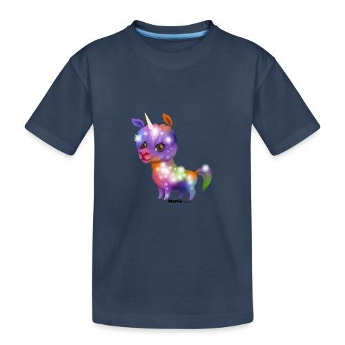 Llamacorn - Premium økologisk T-skjorte for tenåringer