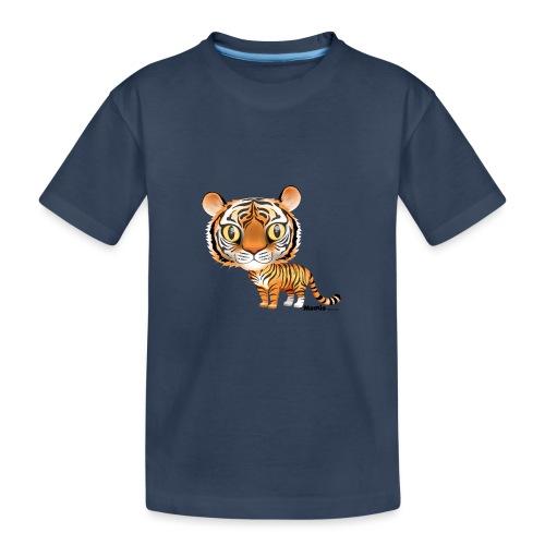 Tijger - Teenager premium biologisch T-shirt