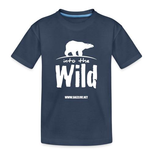 Into the wild (version light) - T-shirt bio Premium Ado