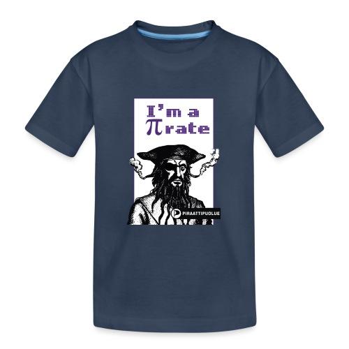 I am a pirate - Teinien premium luomu-t-paita