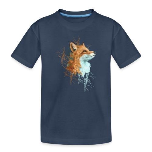 Happy the Fox - Teenager Premium Bio T-Shirt
