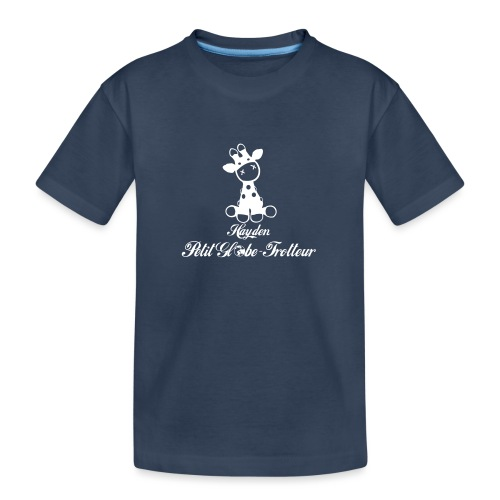 Hayden petit globe trotteur - T-shirt bio Premium Ado