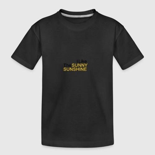Sunny Sunshine... - Teenager premium biologisch T-shirt