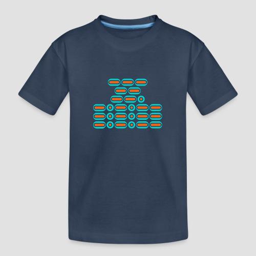 OMG!!! (orange/blue) - Teenager Premium Organic T-Shirt