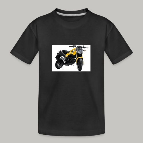 Grom Motorcycle (Monkey Bike) - Teenager Premium Organic T-Shirt