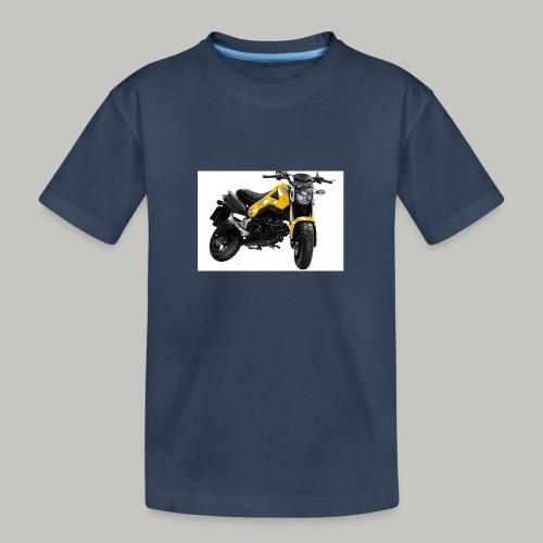 Grom Motorcycle (Monkey Bike) - Teenager Premium Organic T-Shirt