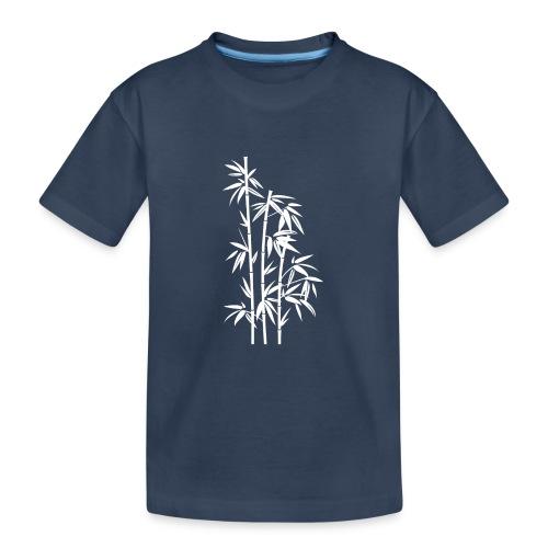 Bianco Dafne 01 - Maglietta ecologica premium per ragazzi
