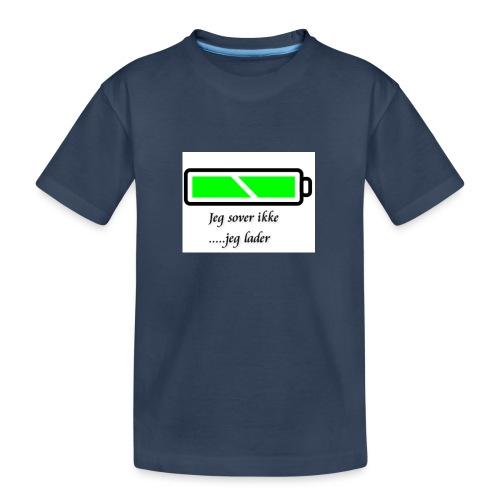 lader_2 - Premium økologisk T-skjorte for tenåringer
