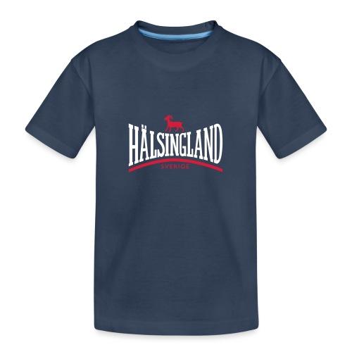 HÄLSINGLAND - Ekologisk premium-T-shirt tonåring