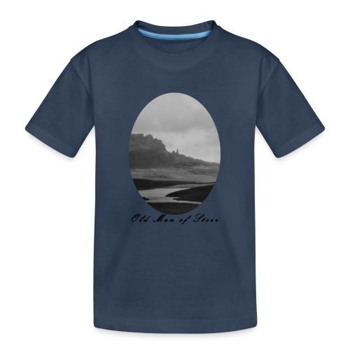 Old Man of Storr (Vintage) - Teenager Premium Bio T-Shirt