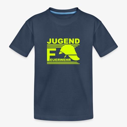 Jugend Feuerwehr Helm - Teenager Premium Bio T-Shirt
