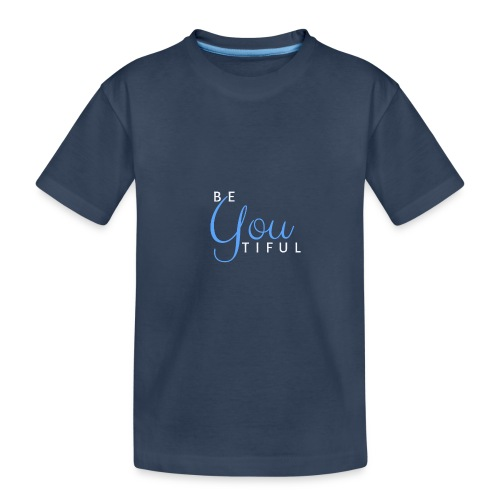 BeYouTiful eisblau-hellblau - Teenager Premium Bio T-Shirt