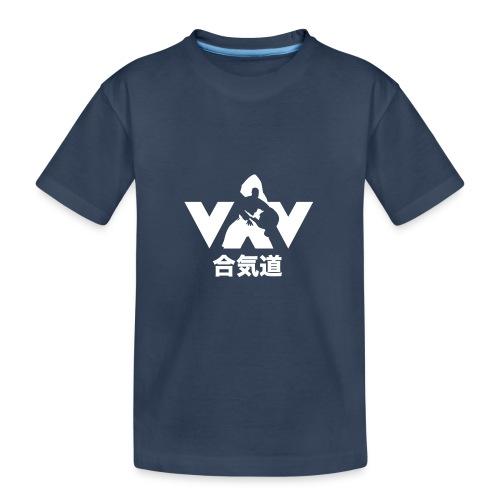 Aikido - Teenager premium biologisch T-shirt