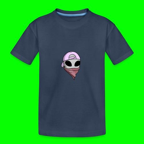 gangsta alien logo - Maglietta ecologica premium per ragazzi