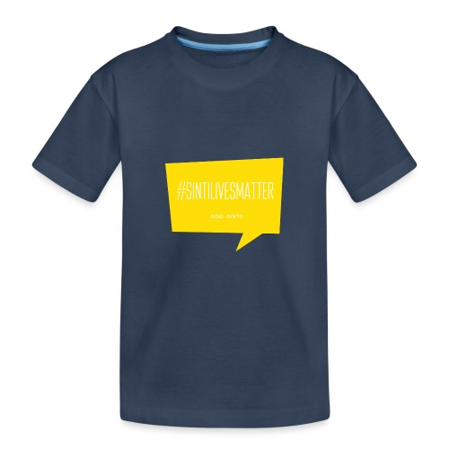 Sinti Lives Matter - Teenager Premium Bio T-Shirt