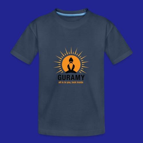final nero con scritta - Teenager Premium Organic T-Shirt