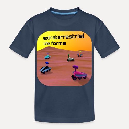 Leben auf dem Mars - Teenager Premium Organic T-Shirt