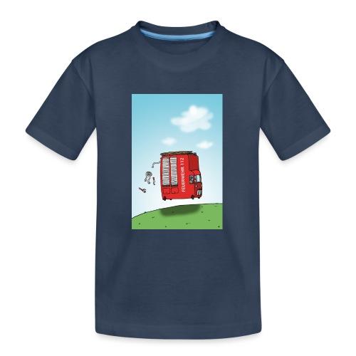 Feuerwehrwagen - Teenager Premium Bio T-Shirt