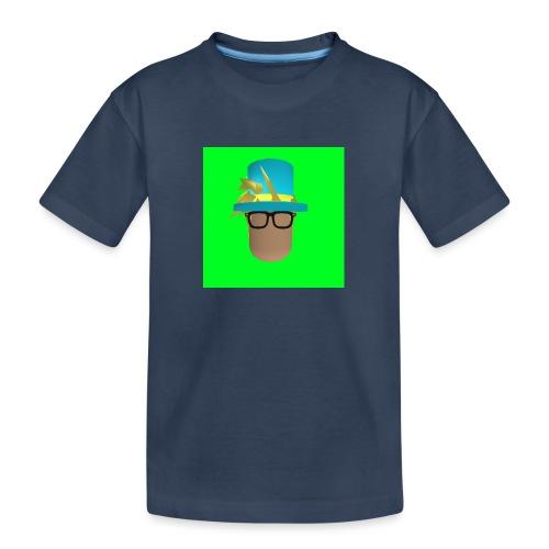 MrWhatWhat Logo Merch - Teenager Premium Organic T-Shirt