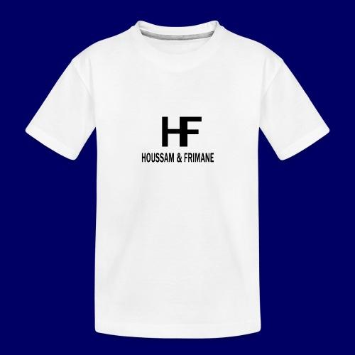 H&F - Maglietta ecologica premium per ragazzi