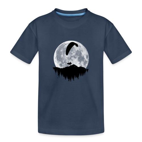Paralgeiter im Vollmond - Teenager Premium Bio T-Shirt