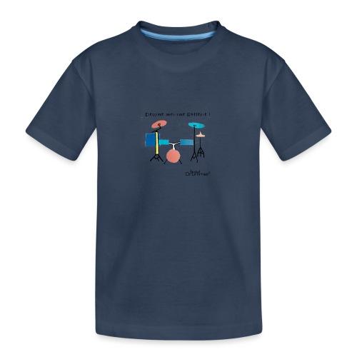 Azia Drum - Teenager Premium Organic T-Shirt
