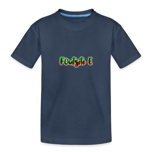 F0utsite E (HALLOWEEN Edition) - Ekologisk premium-T-shirt tonåring