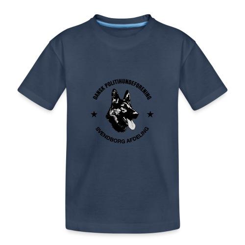 Svendborg ph sort - Teenager premium T-shirt økologisk