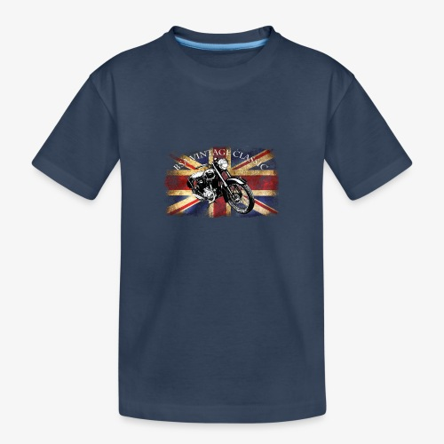 Vintage famous Brittish BSA motorcycle icon - Teenager Premium Organic T-Shirt