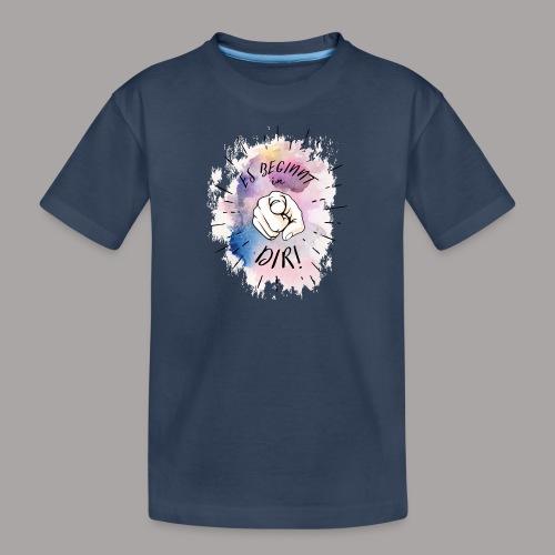 shirt bunt tshirt druck - Teenager Premium Bio T-Shirt