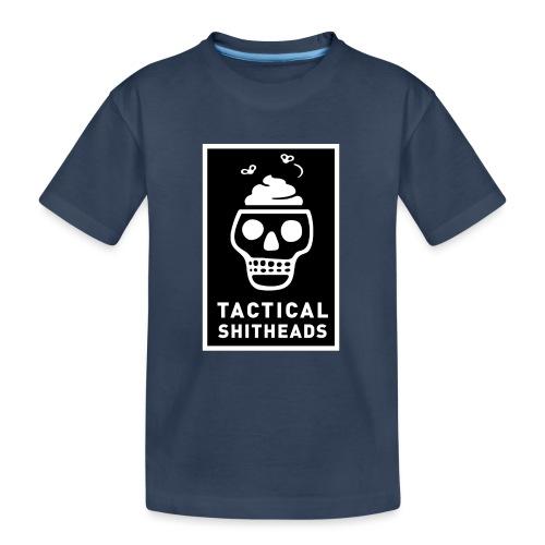 Tacshit Shitheadskull - Teenager Premium Bio T-Shirt