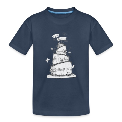 Torta - Maglietta ecologica premium per ragazzi