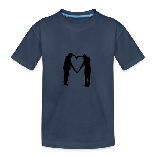silhouette 3612778 1280 - Ekologisk premium-T-shirt tonåring