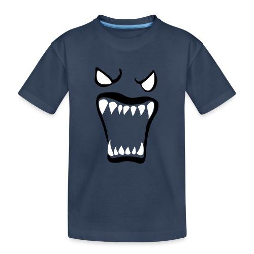 Monsters running wild - Ekologisk premium-T-shirt tonåring