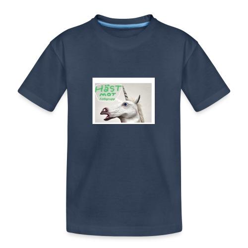 haest mot folkgrupp - Ekologisk premium-T-shirt tonåring