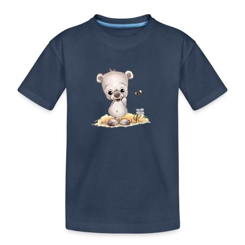 Noah der kleine Bär - Teenager Premium Bio T-Shirt