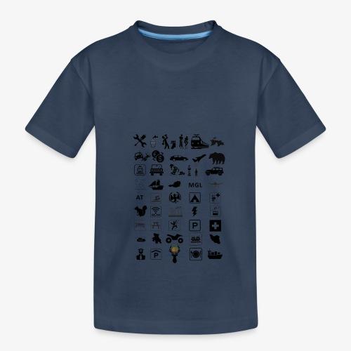Where should I go now? - Teenager Premium Bio T-Shirt